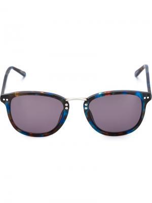 Солнцезащитные очки Franklin Krewe Du Optic. Цвет: синий