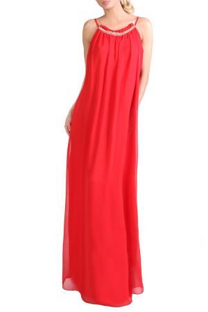 Платье JUNONA. Цвет: красный