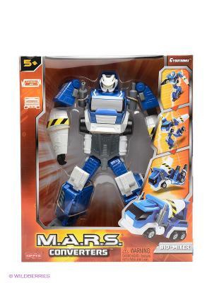 Робот трансформер Hap-P-Kid. Цвет: синий, белый, серый