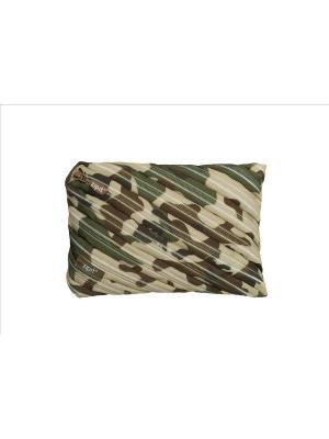 Пенал-сумочка CAMO JUMBO POUCH, цвет хаки камуфляж ZIPIT. Цвет: зеленый, хаки
