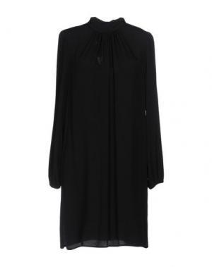 Короткое платье CARLA G.. Цвет: черный
