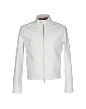Куртка ROBERTO PEPE. Цвет: белый