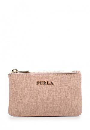Ключница Furla. Цвет: розовый