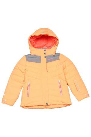 Куртка со съемным капюшоном Icepeak. Цвет: 443 оранжевый