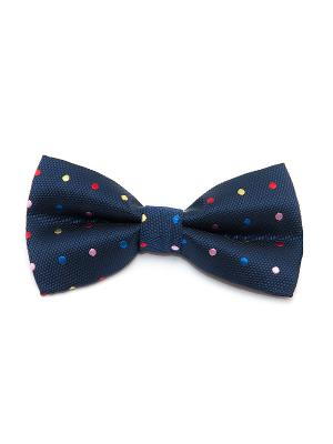 Галстук-бабочка Churchill accessories. Цвет: темно-синий, синий, зеленый, красный, оранжевый, желтый