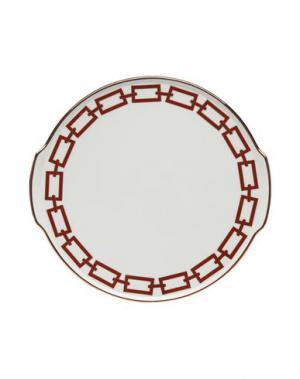 Блюдо RICHARD GINORI. Цвет: красно-коричневый