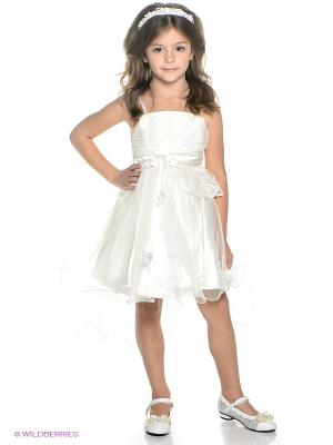 Платье ERKUT. Цвет: молочный