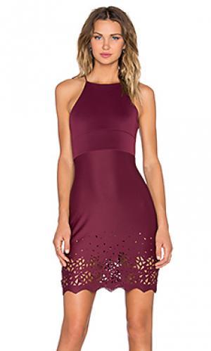 Платье abigail De Lacy. Цвет: красное вино