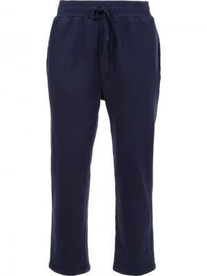 Спортивные брюки с эластичным поясом 321. Цвет: синий