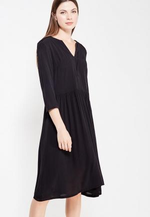 Платье Ichi. Цвет: черный
