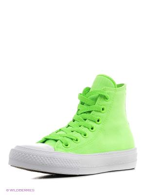 Кеды Chuck Taylor All Star II Converse. Цвет: зеленый