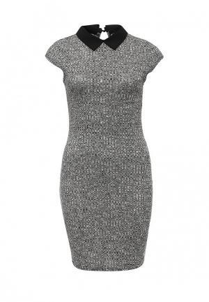 Платье Mim. Цвет: серый