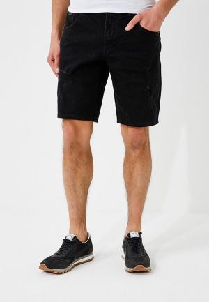 Шорты джинсовые Armani Exchange. Цвет: черный
