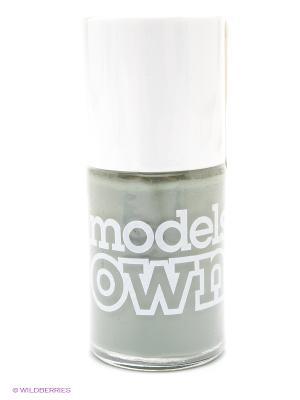 Лак для ногтей 14 мл, Cream, Grace Green Models Own. Цвет: серо-зеленый