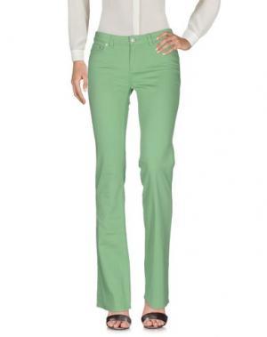 Повседневные брюки POLO JEANS COMPANY. Цвет: зеленый