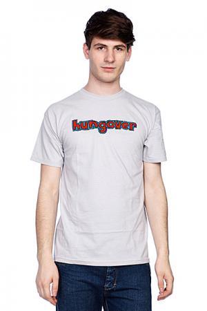 Футболка  Hungover Reversible Silver Blind. Цвет: серый