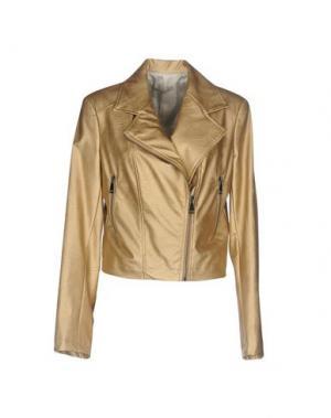 Куртка PAOLO CASALINI. Цвет: бежевый