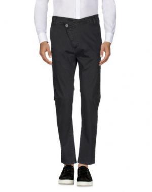 Повседневные брюки EN AVANCE. Цвет: стальной серый