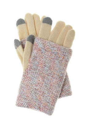 Перчатки Gusachi. Цвет: кремовый, голубой, оранжевый, розовый