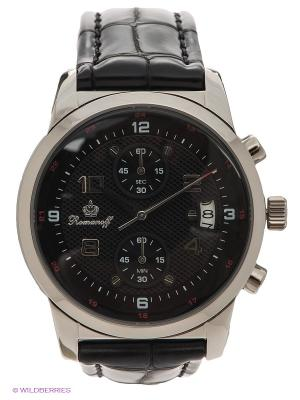 Часы Romanoff. Цвет: черный, серебристый