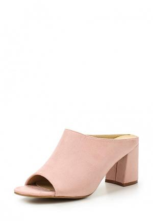 Сабо Max Shoes. Цвет: розовый