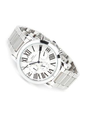 Часы на браслете IBSO. Цвет: серебристый, белый