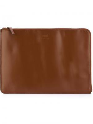 Чехол для ноутбука Ami Alexandre Mattiussi. Цвет: коричневый