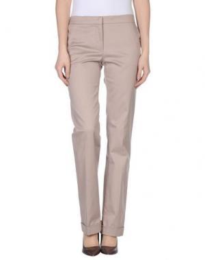 Повседневные брюки GATTINONI. Цвет: голубиный серый