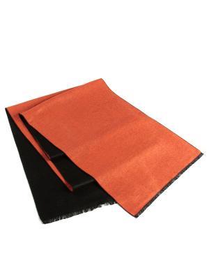 Шарф Franco Frego. Цвет: черный, оранжевый