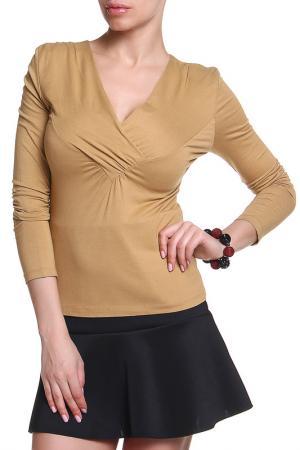 Блуза Ikiler. Цвет: песочный