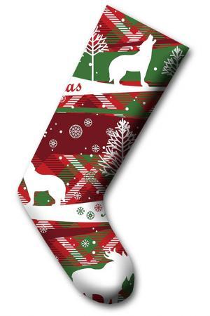 Рождественский носок CHRISTMAS - DECORATION. Цвет: мультицвет