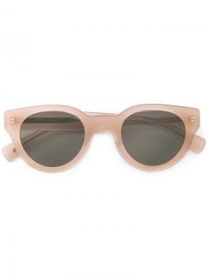 Солнцезащитные очки Eyevan7285. Цвет: розовый и фиолетовый