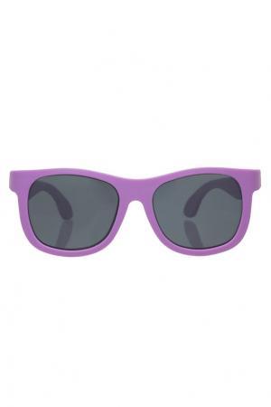 Фиолетовые детские очки Babiators. Цвет: фиолетовый