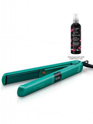Утюжок для волос GA.MA. Цвет: зеленый