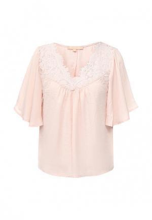 Блуза By Swan. Цвет: бежевый