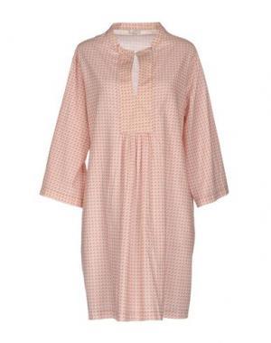 Короткое платье PYAAR. Цвет: светло-розовый