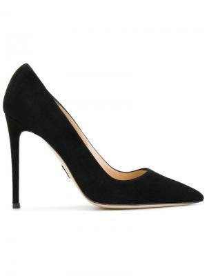 Туфли-лодочки с заостренным носком Paul Andrew. Цвет: чёрный
