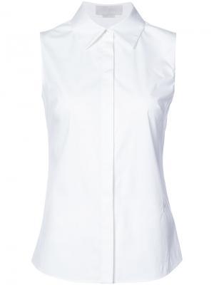 Блузка без рукавов Monse. Цвет: белый