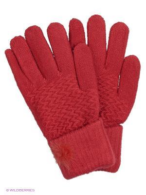 Перчатки Punta. Цвет: красный