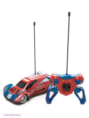 Авто Человек паук Majorette. Цвет: красный