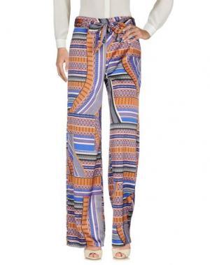 Повседневные брюки LANACAPRINA. Цвет: синий