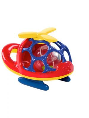 Вертолёт  красный Oball. Цвет: желтый, красный, синий