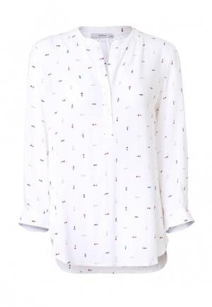 Блуза Emka. Цвет: белый