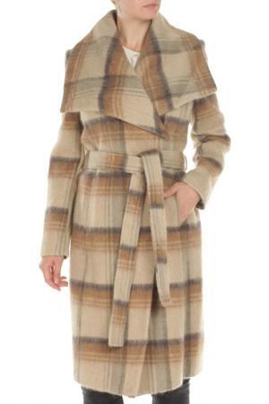 Пальто BCBG. Цвет: 854, camel