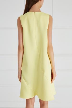 Платье-трапеция Cyrille Gassiline. Цвет: желтый