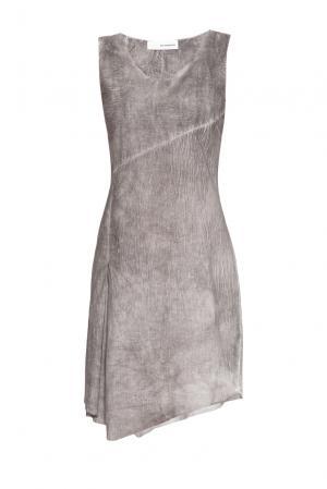 Платье из хлопка 161045 Un-namable. Цвет: серый
