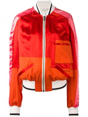 Loose-fit bomber jacket Haider Ackermann. Цвет: красный
