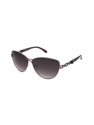 Cолнцезащитные очки Exenza. Цвет: бордовый