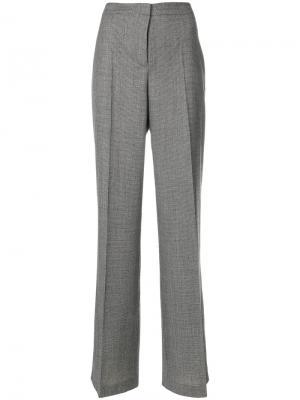 Классические расклешенные брюки Tonello. Цвет: чёрный