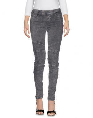 Джинсовые брюки CIMARRON. Цвет: свинцово-серый
